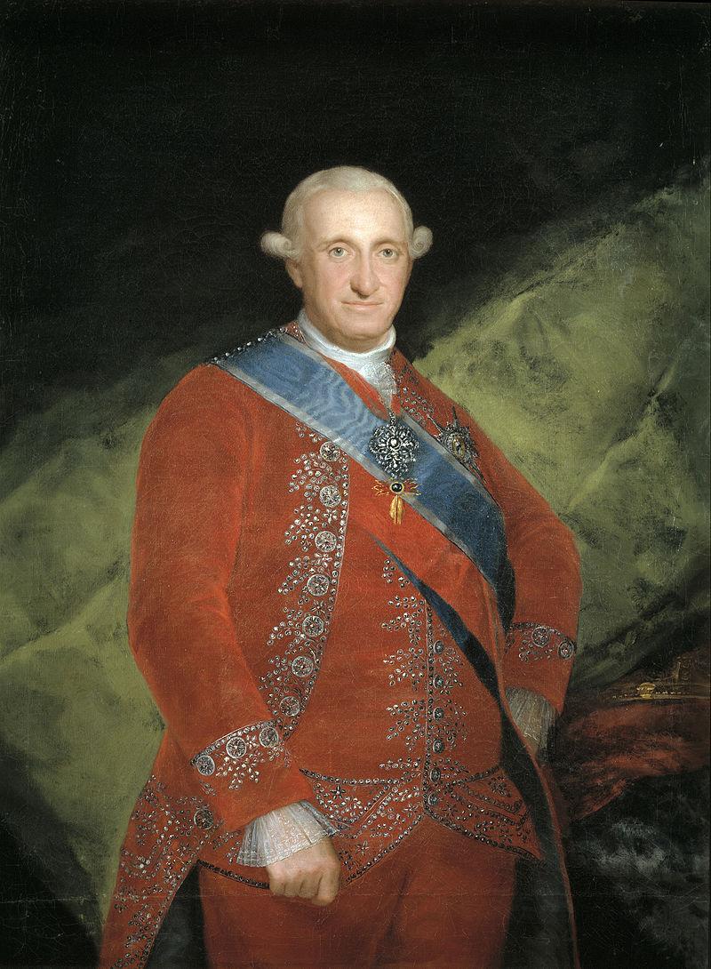 Carlos IV de España, el rey cazador (1788-1808)