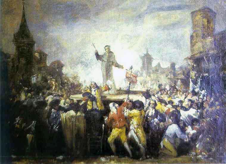 El motín de Esquilache, durante el reinado de Carlos III de España.
